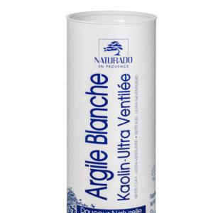 Naturado – Argile blanche – Kaolin ultra ventilée 300 gr