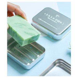 Cocooning – Boîte à savon en alu