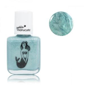 Petite manucurist – Vernis à ongles à l'eau pour enfants – Bleu argenté, Bonnie la sirène