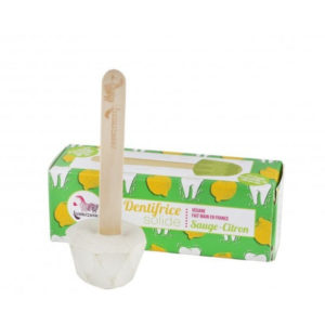 Lamazuna – Dentifrice solide – Sauge-citron