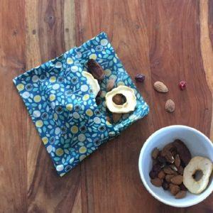 Eco-tsapi – Emballage à la cire d'abeille rectangle RECTANGLE Medium 25×30 cm – 1 pièce VRAC (couleur aléatoire)
