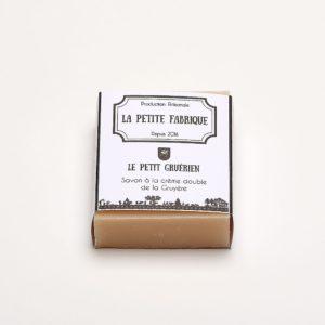 """La petite fabrique – Savon à la crème double – """"Le petit Gruérien"""""""