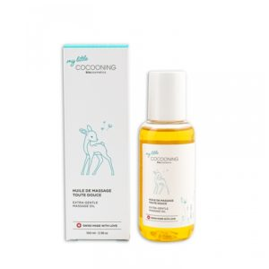 Cocooning – Huile de massage douce pour bébé 100 ml