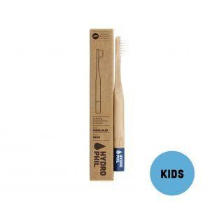 Brosse à dent en bambou enfants – bleue