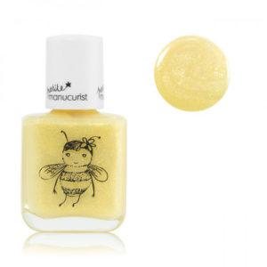 Petite manucurist – Vernis à ongles à l'eau pour enfants – Jaune, Pia l'abeille