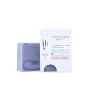 Cocooning – Savon crops et mains 100 gr – Fleur de lavande