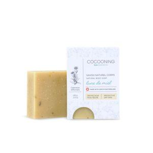 Cocooning – Savon corps et mains 100 gr – Lune de miel