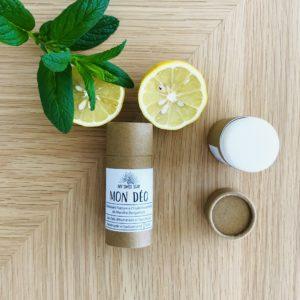 My Swiss soap – Mon déodorant stick compostable – Menthe/bergamote