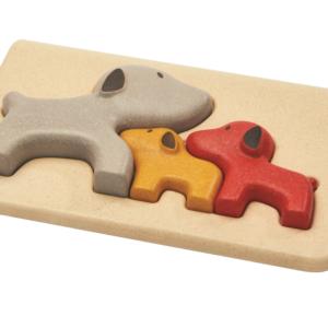 PlanToys – Puzzle Chiens