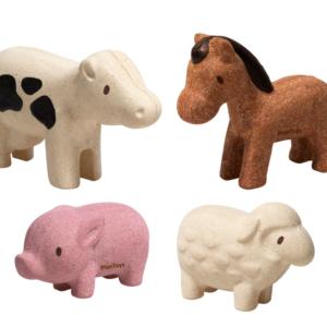 PlanToys – Set d'animaux de la ferme