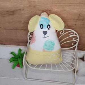 Petite souris à dent de lait – Glaces jaunes