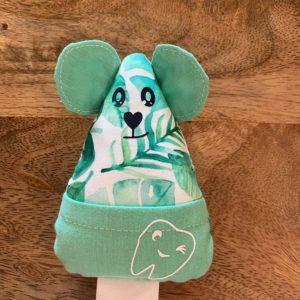 Petite souris à dents de laits – Feuilles vertes