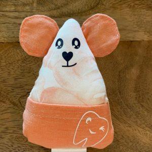 Petite souris à dents de laits – Feuilles oranges