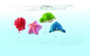 PlanToys – Animaux pour le bain