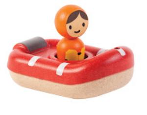 PlanToys – Bateau de sauvetage – Jouet de bain