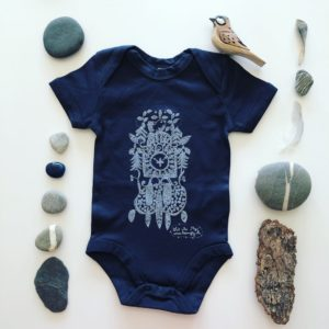 Let me fly – Body en coton bio – Coucou Suisse – 3/6 mois