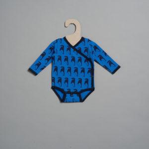 L'asticot – Body en coton BIO – Pingouins – 1 mois