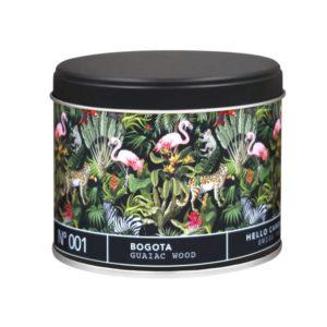 Hello Candle – Bougie – Bogota Guaiac Wood n°001