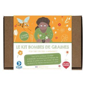 Les petits radis – Kit bombes de graines