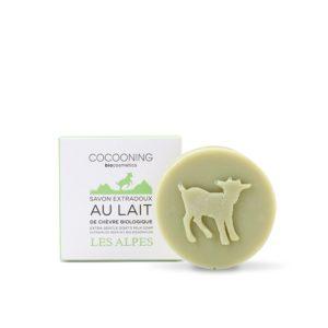 Cocooning – Savon au lait de chèvre – Les Alpes