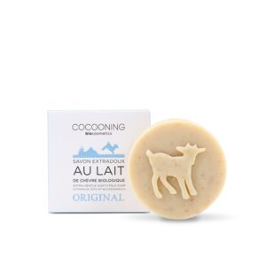Cocooning – Savon au lait de chèvre – L'original