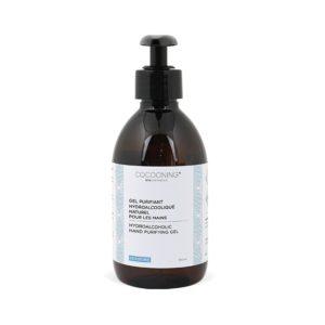 Cocooning – Gel hydroalcoolique naturel flacon pompe 300 ml – Verveine