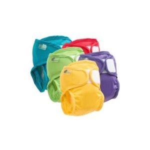 Protection imperméable pour couche lavable Taille 1 3-9 kg – Rouge