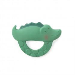 Moulin Roty – Anneau de dentition/Jouet de bain – Crocodile