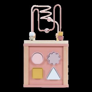 Little Dutch – Cube d'activités 6 pces (Plusieurs coloris )