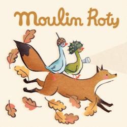Moulin Roty – Recharge 3 disques pour lampe à histoire – Le voyage d'Olga