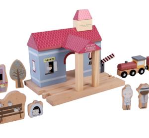 Little Dutch – Gare (Extension circuit train)