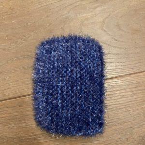 Grande éponge lavable – Bleue
