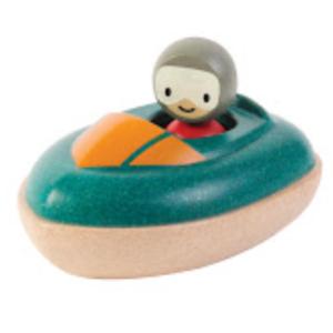 Plantoys – Jouet de bain – Bâteau hors-bord
