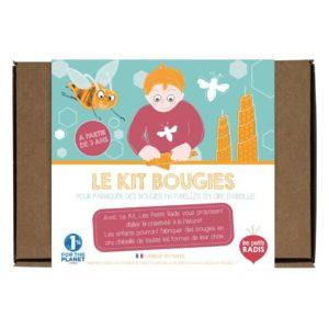 Les petits radis – Kit à bougie
