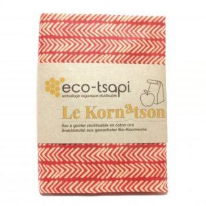 Eco-Tsapi – Sac à goûter – Le kornatson (couleur aléatoire)