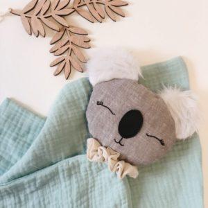 Atelier Maurice – Doudou Emma lange – Vert menthe