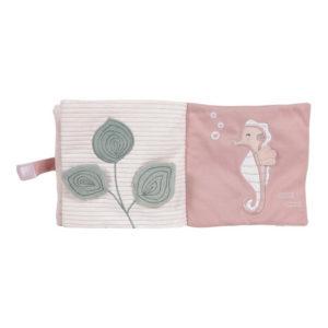 Little Dutch – Livre en tissu – Océan rose