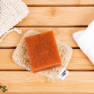 Hydrophil – Porte savon en Luffa
