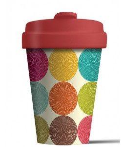 Mug/Thermos en bambou 400 ml – Cercles