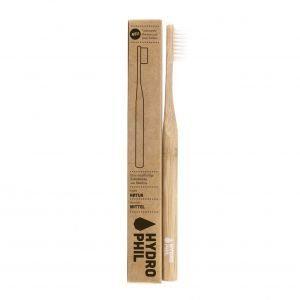 Brosse à dent en bambou – Medium – Couleur naturelle