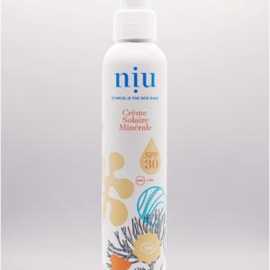 NIU – Crème solaire adultes et enfants, Visage et corps – SPF 30, 100ml