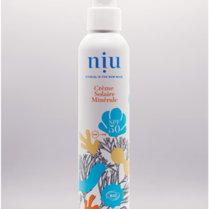 NIU – Crème solaire adultes et enfants, Visage et corps – Crème Fluide – SPF 50, 100ml
