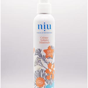 NIU – Crème solaire adultes et enfants, Visage et corps – Crème Onctueuse – SPF 50, 100ml (Copie)