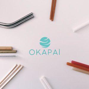 Okapai – Pailles comestibles 20 pces – Farine de riz