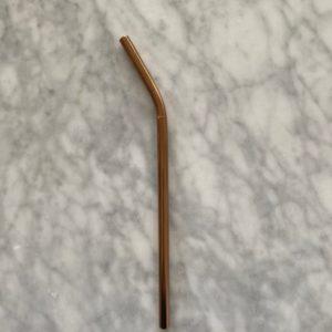 Paille smoothie – bronze