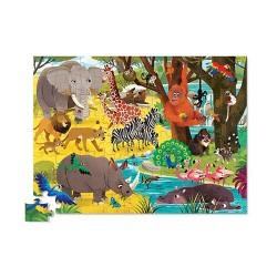 Crocodile Creek – Puzzle 72 pces – Safari sauvage