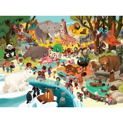 Crocodile creek – Puzzle 48 pces – Zoo