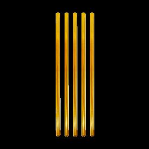 Paille regular – dorée