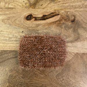 Grande éponge lavable – Brune