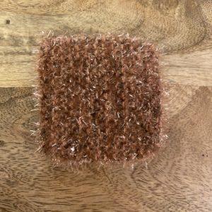 Petite éponge lavable – Brun